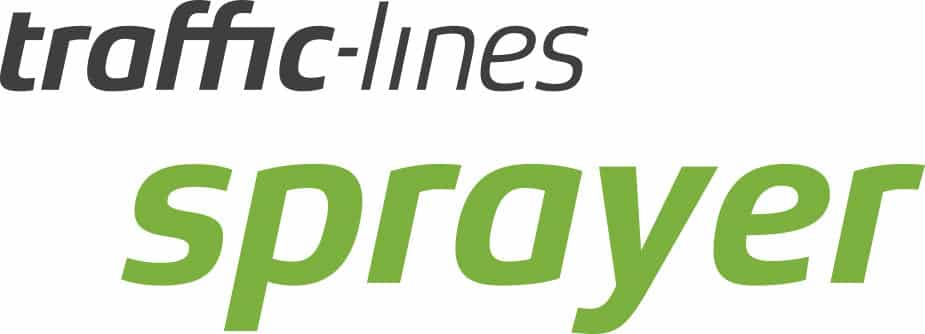 Logo mit Text : traffic-lines rolling device